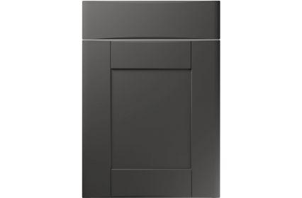Unique Denver Super Matt Graphite kitchen door