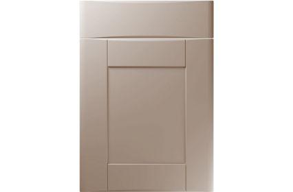Unique Denver Super Matt Stone Grey kitchen door