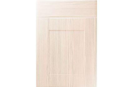 Unique Denver White Avola kitchen door