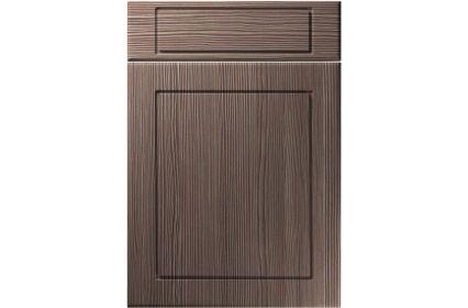 Unique Esquire Brown Grey Avola kitchen door