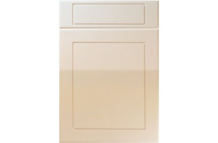 Unique Esquire High Gloss Mussel kitchen door