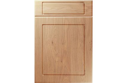 Unique Esquire Light Winchester Oak kitchen door