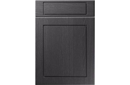 Unique Esquire Painted Oak Graphite kitchen door