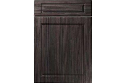 Unique Fenwick Hacienda Black kitchen door