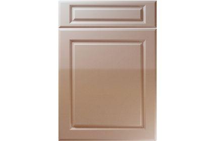 Unique Fenwick High Gloss Cappuccino kitchen door