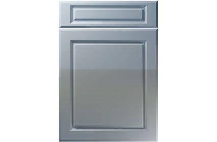 Unique Fenwick High Gloss Denim kitchen door