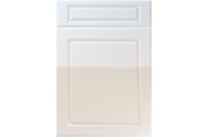 Unique Fenwick High Gloss Grey kitchen door