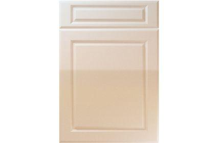 Unique Fenwick High Gloss Sand Beige kitchen door