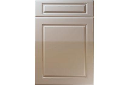 Unique Fenwick High Gloss Stone Grey kitchen door