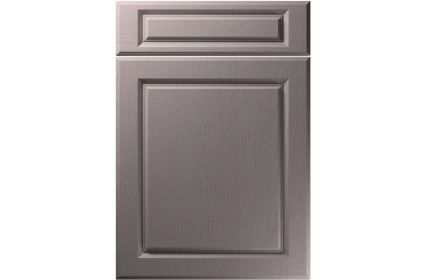 Unique Fenwick Painted Oak Dust Grey kitchen door