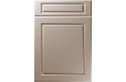 Unique Fenwick Painted Oak Stone Grey kitchen door