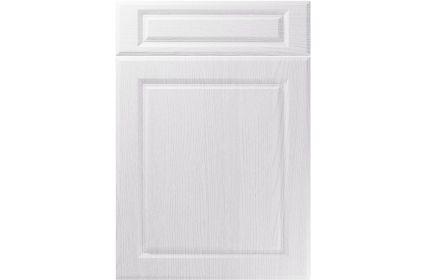 Unique Fenwick Painted Oak White kitchen door