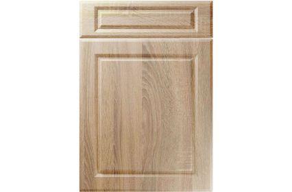 Unique Fenwick Sonoma Oak kitchen door