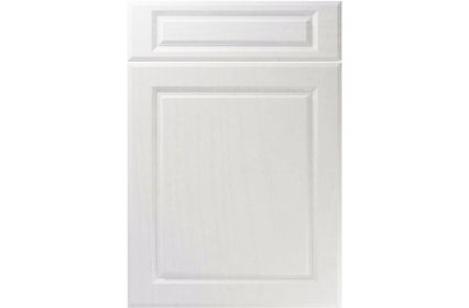 Unique Fenwick Super White Ash kitchen door