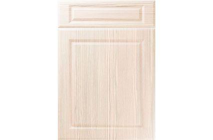 Unique Fenwick White Avola kitchen door