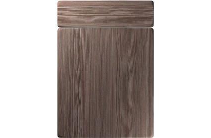 Unique Genoa Brown Grey Avola kitchen door