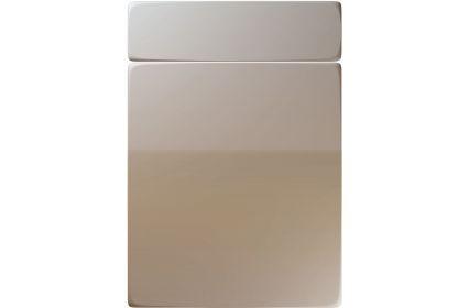 Unique Genoa High Gloss Stone Grey kitchen door