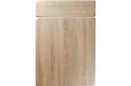 Unique Genoa Sonoma Oak kitchen door
