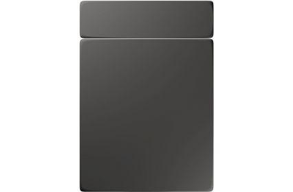 Unique Genoa Super Matt Graphite kitchen door