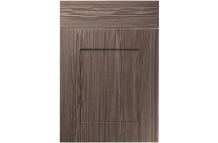 Unique Johnson Brown Grey Avola kitchen door