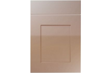 Unique Johnson High Gloss Cappuccino kitchen door