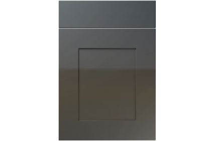 Unique Johnson High Gloss Graphite kitchen door