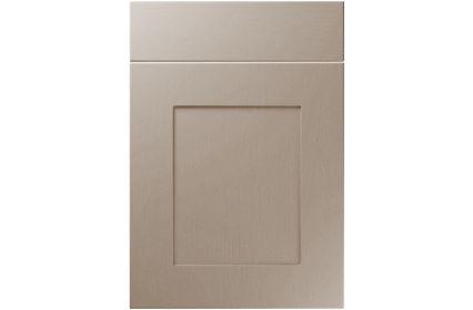 Unique Johnson Painted Oak Stone Grey kitchen door