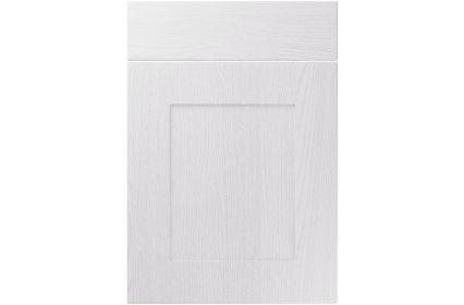 Unique Johnson Painted Oak White kitchen door