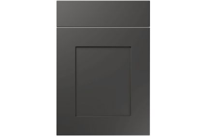 Unique Johnson Super Matt Graphite kitchen door