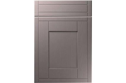 Unique Keswick Painted Oak Dust Grey kitchen door