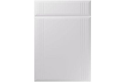 Unique Linea Super Matt Light Grey kitchen door