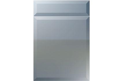 Unique Milano High Gloss Denim kitchen door