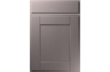 Unique New England Painted Oak Dust Grey kitchen door