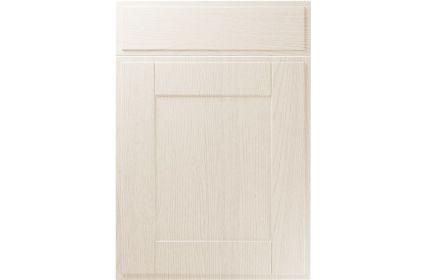 Unique New England Painted Oak Ivory kitchen door