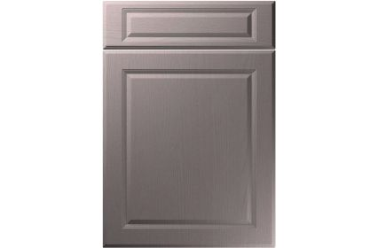 Unique New Fenland Painted Oak Dust Grey kitchen door