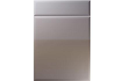 Unique Oslo High Gloss Dust Grey kitchen door
