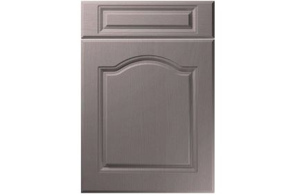 Unique Ribble Painted Oak Dust Grey kitchen door
