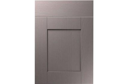Unique Shaker Painted Oak Dust Grey kitchen door