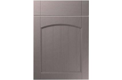 Unique Sutton Painted Oak Dust Grey kitchen door