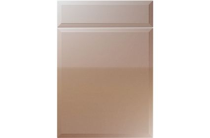 Unique Verona High Gloss Cappuccino kitchen door