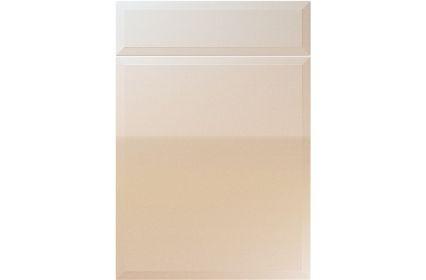 Unique Verona High Gloss Sand Beige kitchen door