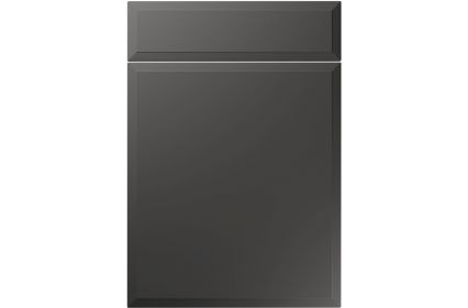 Unique Verona Super Matt Graphite kitchen door