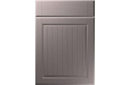 Unique Willingdale Painted Oak Dust Grey kitchen door