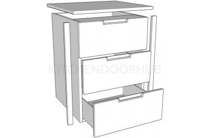 Internal Drawer Packs - 3 Drawer