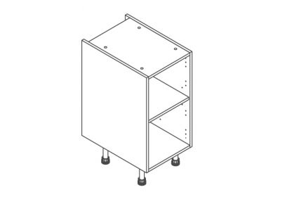 400 Base Unit Door/Drawer Line - ClicBox