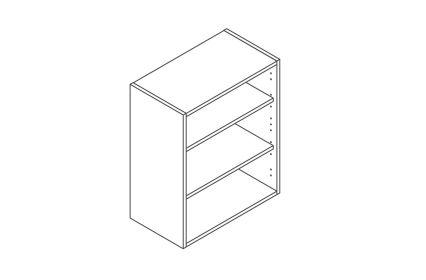 600 Wall Unit 720 High - ClicBox