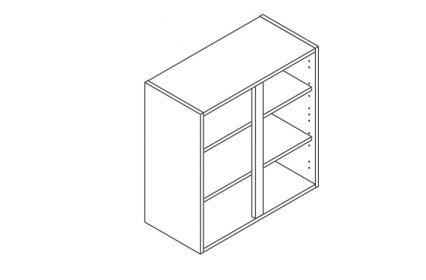 700 Wall Unit 720 High - ClicBox