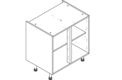 800 Base Unit Door/Drawer Line - ClicBox