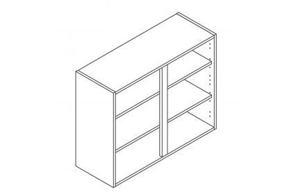 900 Wall Unit 720 High - ClicBox