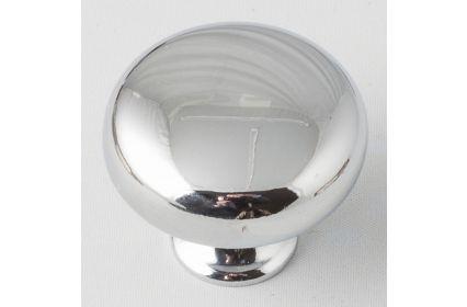 Button Knob - Chrome